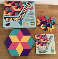 Discovery Toys Mosaic Mysteries Pattern Block Design Activity 1992 Complete