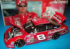 Dale Earnhardt Jr 2000 Budweiser Richmond Race #8 Chevy 1/24 NASCAR Diecast New