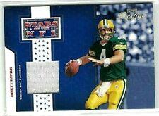 BRETT FAVRE 2005 PLAYOFF PRESTIGE STARS OF THE NFL GAME USED JERSEY