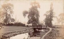 Adwick le Street near Doncaster. Stream & Bridge.