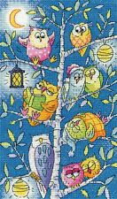 Heritage Crafts Cross Stitch Kit - Tree of Owls (Aida)
