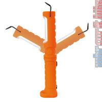 Kunzer PL-023.2 orange COB LED Arbeitsleuchte Stableuchte Werkstattlampe Li-Ion