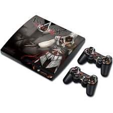 Skin Sticker Vinyl Decal Cover For PS3 PlayStation 3 Slim+2 Controllers TNS89#