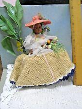 Vintage Black Jamaican African? Princess Doll Figure #10 Monkey Bananas No. 102