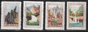 Korea...   1966   Sc # 755-58   MNH   NGAI + MLH   (3-3389)