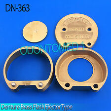 Lower Denture Brass Flask Ejector Type Dental Lab DN-363