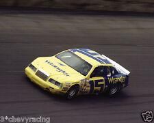 DALE EARNHARDT SR #15 WRANGLER RACING ON TRACK 8X10 GLOSSY PHOTO