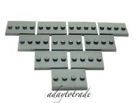 LEGO 10 x Mini Figure Base Plates / Boards / Strips