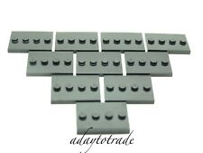 LEGO 10 x Mini Figure Base Plates / Boards / Strips