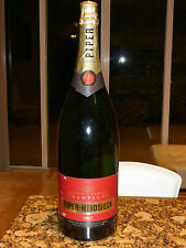 Piper-Heidsieck France Champagne 3 Liter EMPTY Dummy Display Bottle - 19 3/4""