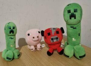 Mojang Minecraft Plush Bundle x 4