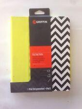 Griffin  Zig Zag Folio Case For I Pad 2|3|4 Gen GB35753 Citron