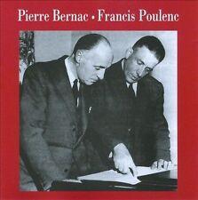 `POULENC, F.`-PIERRE BERNAC-FRANCIS POU  CD NEW