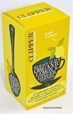 Clipper 6 boîtes Lemon & Ginger perfusion 25 Enveloppé intercalaires par boîte