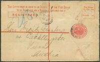 NEW SOUTH WALES TO AUSTRIA Old Postal Stationery VF