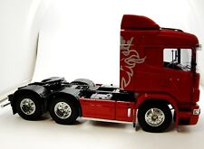 Truck Tamiya Scania R620 Edelstahl Side Bar Seitenbegrenzungslicht LED 7,2 Volt