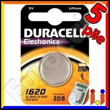 A2zworld PILA Batteria Lithium a Bottone Duracell Litio 1620 Dl1620 Cr1620 Ecr16
