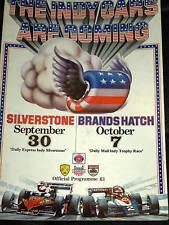Usac INDY CAR RACE programma 1978 Al Unser Danny Ongais Penske Wild Cat DG