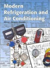 Modern Refrigeration And Air Conditioning by Althouse Textbook