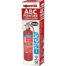1KG POWDER ABC FIRE EXTINGUISHER WITH WALL BRACKET HOME OFFICE CAR KITCHEN