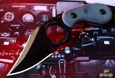 TPCC2002 Couteau TOPS Cockpit Commander Acier 1095 Carbone Etui Kydex USA