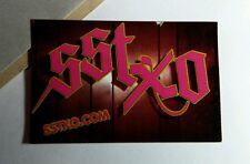 SSTXO SST XO LOST PROPHETS MIDTOWN EIGHTEEN VISIONS 2x3 SM MUSIC STICKER