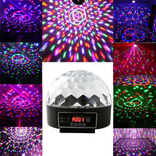 30W Disco Stage Lighting Digital DMX512 LED RGB Crystal Magic Ball Effect Light