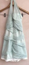 Ladies Halter Neck Dress Mint Green Size 8 Topshop<NH4130