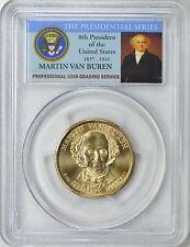 2008-P PRESIDENT MARTIN VAN BUREN $1 POS.A PCGS MS66 FIRST DAY ISSUE
