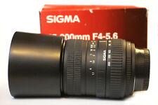 Sigma 55-200mm DC Auto Focus Zoom Lens