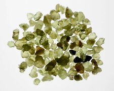 PERIDOT CRYSTALS Translucent Gemstone 23 Ct Bottle Jar Gift Wire Wrapping
