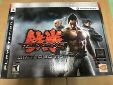 Tekken 6 PS3 Limited Edition Wireless Fight Stick, Art Book, Game,  Sealed New