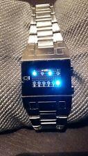 Uhr Binäruhr Armbanduhr Herren von OI The One, Binary Time