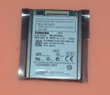 """1.8"""" Toshiba MK4009GAL CE ZIF PATA 5mm 40GB For DELL Latitude XT D420 D430"""