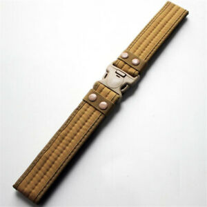 """Tactical Military Style Adjustable Belt Quick Release Padded 2"""" Wide One Size"""