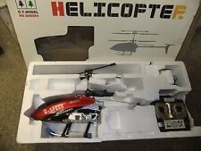 Radio Controller RC Helecopter No. QS8004 2 speed little use built in GYRO