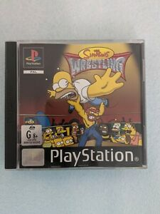 Sony PlayStation 1 The Simpsons Wrestling Game