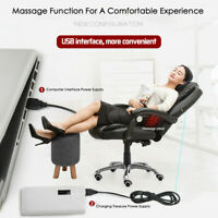 Executive Swivel Office Chair High Back Black Task Ergonomic Computer Desk Chair