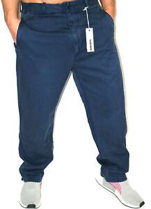 Diesel Chino Jeans Platton W31 00AOM Ocean Blue Cotton Used -New-