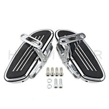 Streamline Passenger Foot Floor board For Harley Touring Road Street Glide 93-Up