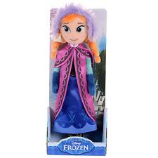 """Disney Frozen Anna 10"""" Peluche nuevo en Caja Gran Regalo"""