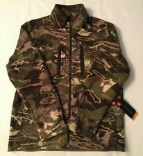 $250 NWT UNDER ARMOUR STEALTH FOREST CAMO WOOL JACKET 1297441-943 MENS SZ LARGE