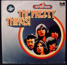 THE PRETTY THINGS-Attention! Psych Rock German Import Album-FONTANA #6438 202