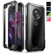 For Motorola Moto X4 Case,Poetic Shockproof Cover [Scratch Resistant Back]