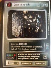 Star Trek CCG First Contact Queen's Borg Cube NrMint-Mint
