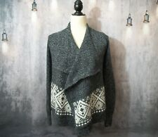 Gray Hollister Cardigan Sweater xs