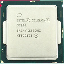 Used Intel Celeron G3900 2.8GHz LGA 1151 SR2HV 2-Core TDP 51W  2MB Cache CPU