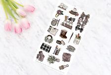 Farmhouse Decorative Planner Stickers for all Planner Types - Erin Condren UK