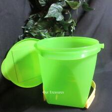Tupperware-NEW-Jumbo-Canister-Bucket-Jug~21-Cup-5-L-Green-w-handle
