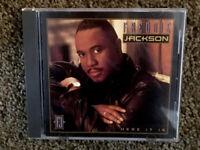 """FREDDIE JACKSON """"HERE IT IS"""" CD LIKE NEW"""